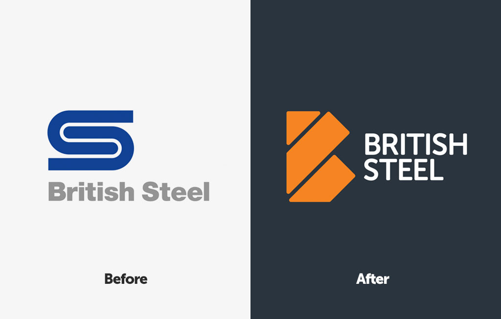 British Steel logo evolution