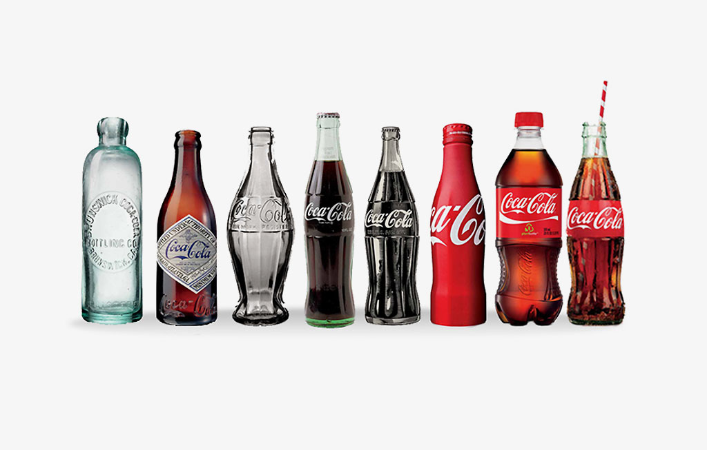 Coca cola logo evolution