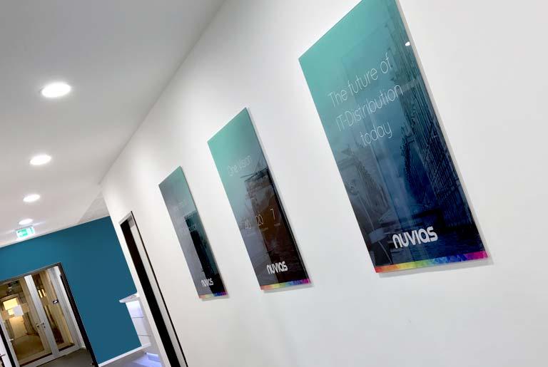 Nuvias poster branding