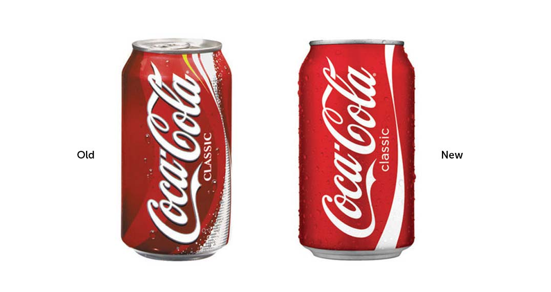 Coca cola brand evolution