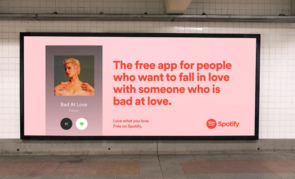 Spotify brand voice