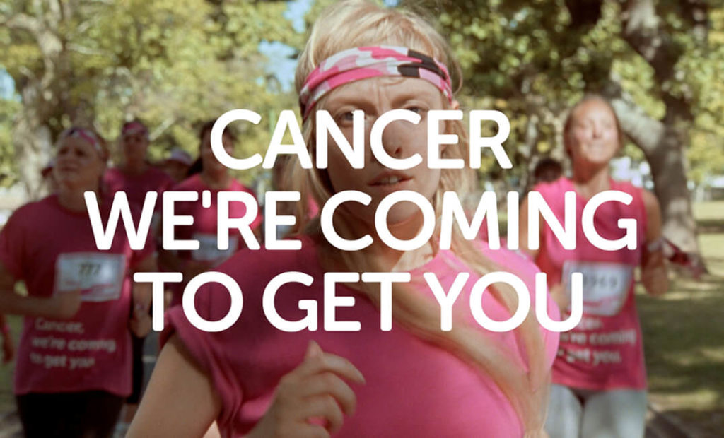 Cancer research brand voice