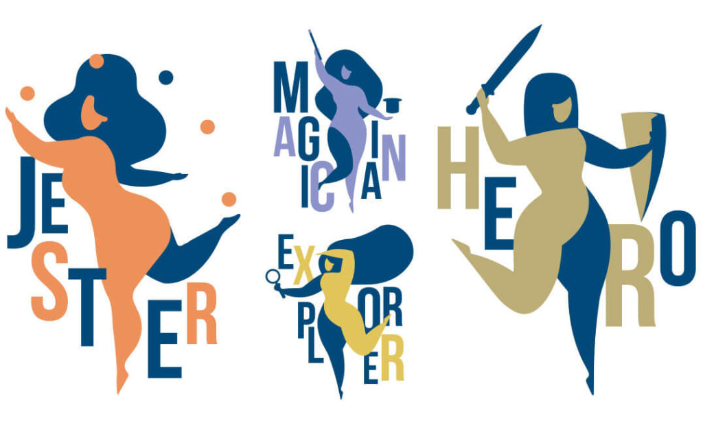Brand archetypes illustration