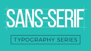 Sans-serif font