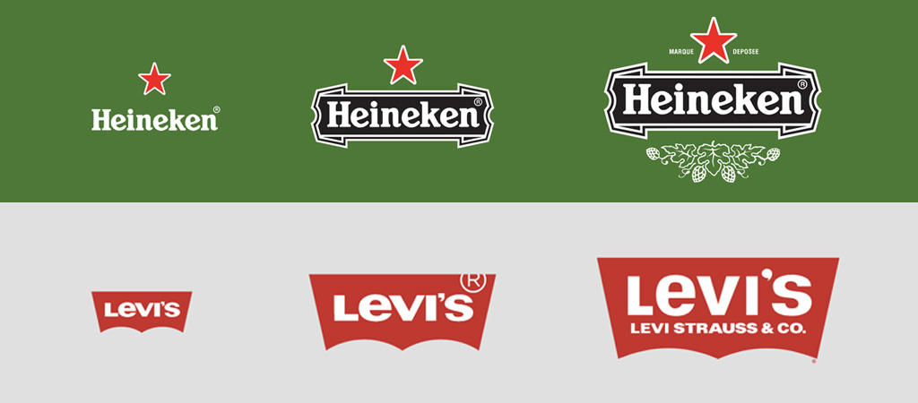Heineken logo evolution