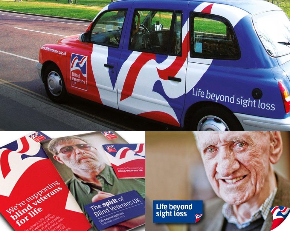 Blind Veterans Rebrand Examples