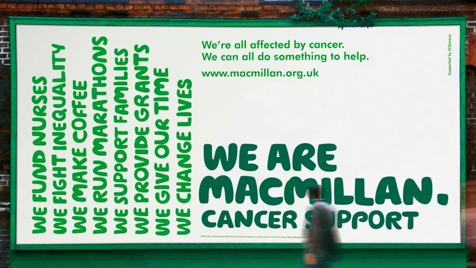 macmillan brand billboard poster