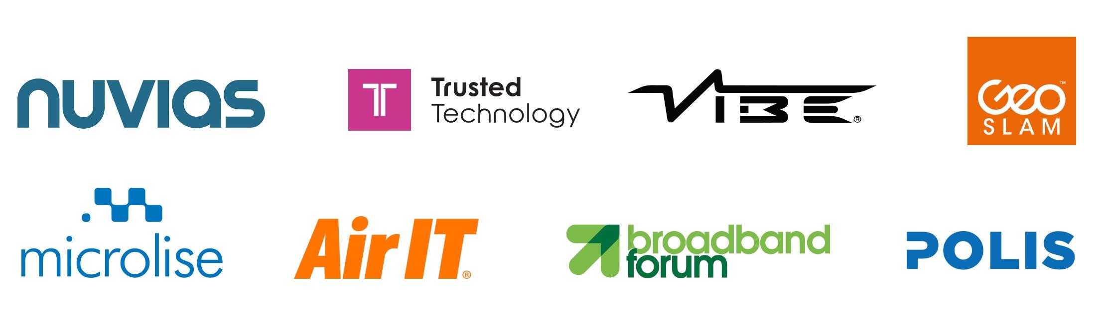 Technology and SAAS company logos