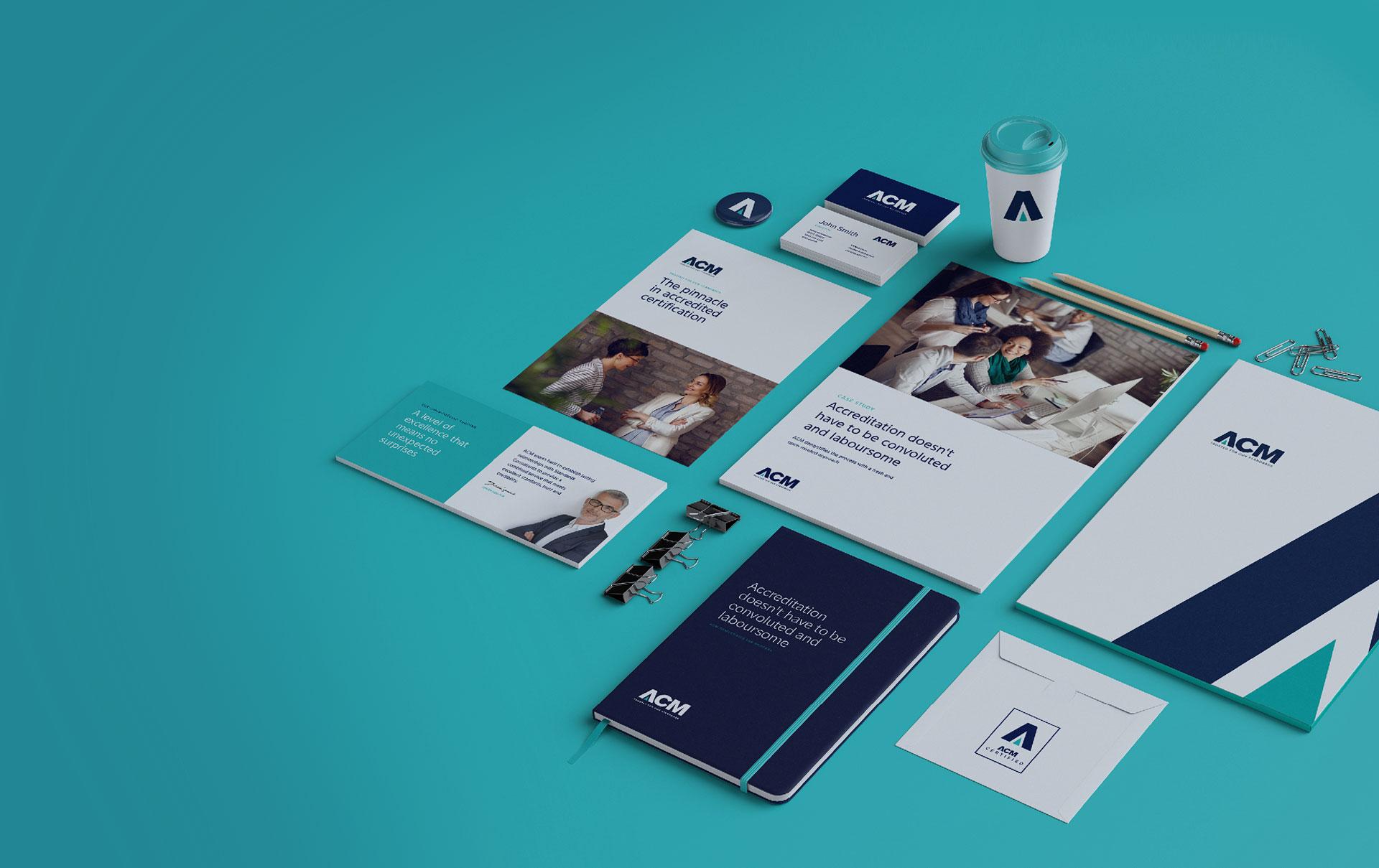 ACM Branding Portfolio Masthead